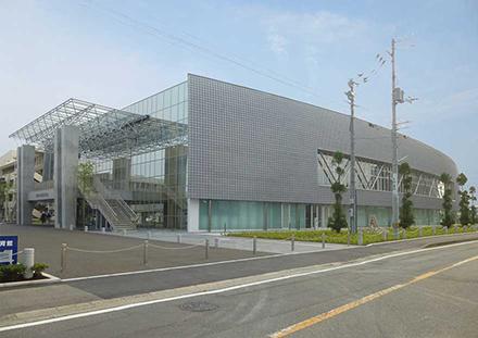 藍住町町民体育館 - 立体構造|...